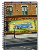 Pueblo Downtown--used Cars Spiral Notebook