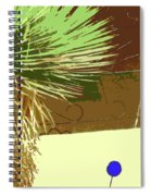 Pueblo Hacienda Design Spiral Notebook