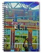 Pueblo Municipal Justice Center Spiral Notebook