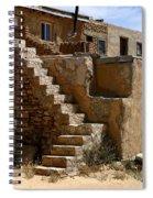 Pueblo Stairway Spiral Notebook