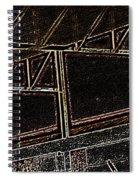 Pueblo-steel City--manufacturing Blueprint Spiral Notebook