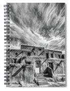 Pueblo Storm Clouds Spiral Notebook