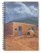 Puertas Azul Spiral Notebook