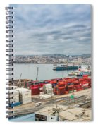 Puerto De Valparaiso Spiral Notebook