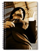 Puffing Pipe Dreams Spiral Notebook