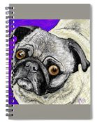 Olivia The Pug Spiral Notebook