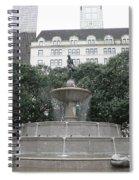 Pulitzer Fountain Spiral Notebook