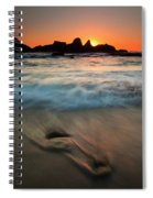 Pulled By The Tides Spiral Notebook