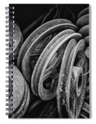 Pulled In Every Direction Spiral Notebook