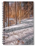 Pulled Into The Woods Spiral Notebook