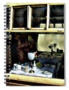 Pullman Dining Car Spiral Notebook