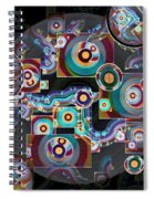 Pulse Of The Motherboard Spiral Notebook