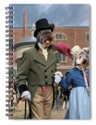 Pumi Art Canvas Print - Settling Day At Tattersalls Spiral Notebook
