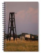 Pump Jack Golden Hour Spiral Notebook