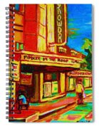 Pumperniks And The Snowdon Theatre Spiral Notebook