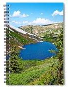 Pumphouse Lake I Spiral Notebook