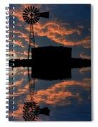 Pumping Water Spiral Notebook