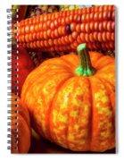 Pumpkin Corn Still Life Spiral Notebook