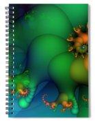 Pumpkin Garden Spiral Notebook