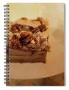 Pumpkin Pie With Walnuts Spiral Notebook