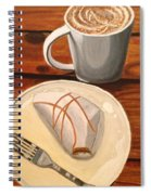 Pumpkin Scone And Pumpkin Latte Spiral Notebook