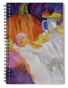 Pumpkin Still Life Spiral Notebook