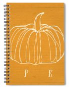 Pumpkins- Art By Linda Woods Spiral Notebook