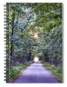 Pumpkinvine Trail In Fall Spiral Notebook
