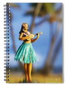 Punaluu, Hula Doll Spiral Notebook