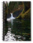 Punchbowl Falls Spiral Notebook