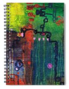 Punctuated Silences Spiral Notebook