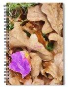 Punk Leaf Spiral Notebook