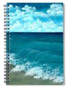 Punta Cana Beach Spiral Notebook