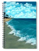Punta Cana Beach Spiral Notebook