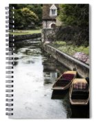 Punting Boats Spiral Notebook