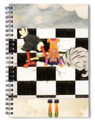 Puppet Doggy In Trouble Again Spiral Notebook