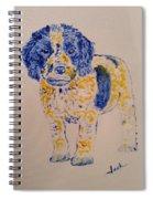 Puppy Stare Spiral Notebook