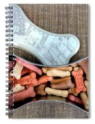 Puppy Treats Spiral Notebook