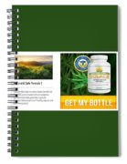 Pure Cbd Solace Spiral Notebook