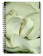 Pure White Fragrant Beauty Spiral Notebook