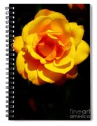 Pure Yellow Petals Spiral Notebook