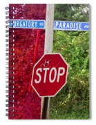 Purgatory Or Paradise Spiral Notebook