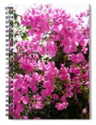 Purple Abundance Spiral Notebook