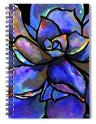 Purple Agave Spiral Notebook