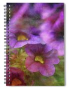 Purple And Yellow Morning 9121 Idp_2 Spiral Notebook