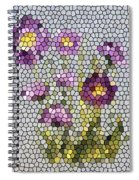 Purple Asters II  Spiral Notebook