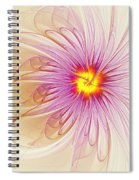 Purple Blossom Spiral Notebook