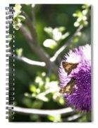 Purple Blossom Spiral Notebook