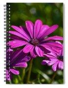 Purple Bouquet Spiral Notebook