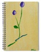 Purple Buds Spiral Notebook